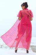 Chanderi Dhoti Jumpsuit with Jacket