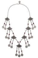 Geometric dangler necklace
