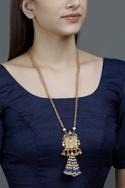 Carved Pendant Necklace