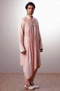 Asymmetrical kurta set
