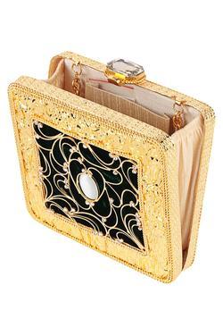 Embellished Box Clutch