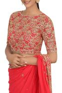 Embellished Saree Set