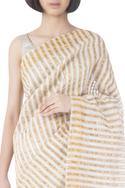 Handwoven Saree with Unstitched Blouse Fabric