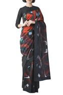 Chanderi Saree with Unstitched Blouse Fabric