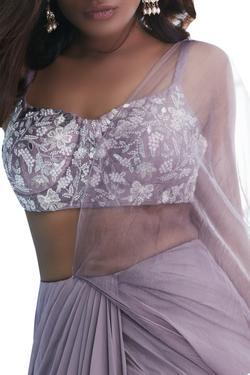 Skirt Saree with Blouse