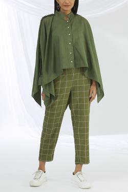 Cotton Linen Pant Set