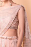 Draped Lehenga Set