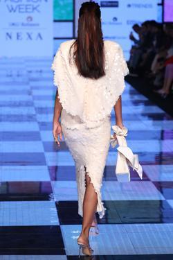 Embellished Top & Skirt Set