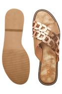 Laser Cut Caged Strap Sandals