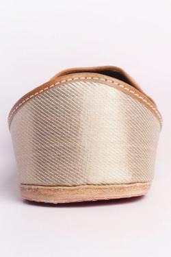 Brocade Banarasi Silk Genda Juttis