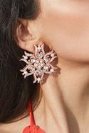 Naia Floral Crystal Statement Studs
