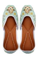 lime-green-leather-printed-juttis
