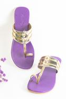 Cutwork Kolhapuri Sandals