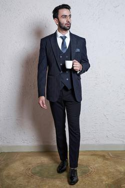 Striped Suit & Pant Set