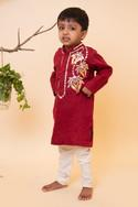 Embroidered Kurta & Pant Set
