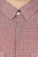 Multicolored check handloom cotton shirt