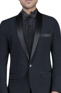 Textured jacket with shirt & trousers
