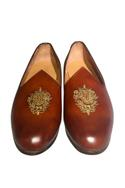 Handcrafted pure leather jutti-style shoes