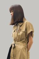 Jumpsuit with Utility Pockets