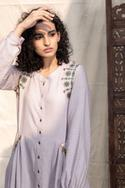 Embroidered Anarkali with Palazzo