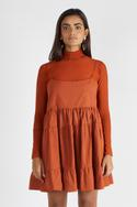 Tiered Dress with Top
