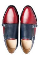 Handcrafted Double Monk Strap Shoes