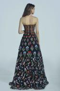 Bandeau Flared Gown