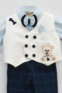 Embroidered Waistcoat & Shirt Set