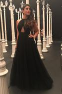 Tulle Flared Gown
