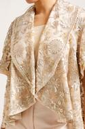 Embroidered Jacket with Inner