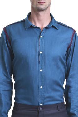 Cuff sleeved shirt