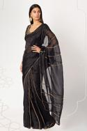 Silk Organza Saree with Silk Blouse