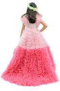Ombre Frill Gown