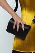Metallic Clutch with Sling