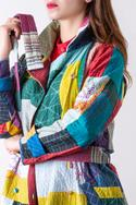 Patchwork Trench Jacket