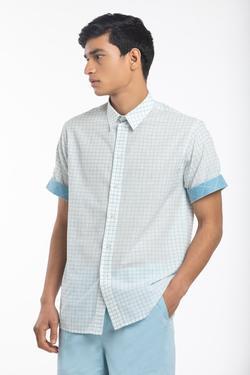 Handwoven Cotton Checkered Shirt