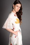 Khaas Handcrafted Tiered Dress