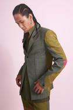 Panelled Suit Set