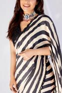 Striped Saree with Blouse