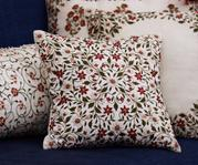 Linen Cushion Cover with Filler (Single Pc)