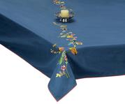 Embroidered Table Cloth (Fits 8-10 Seater Table)