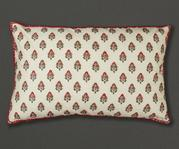 Floral Rectangle Cushion Cover with Filler (Set of 2)
