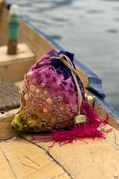 Adrien Fringe Potli Bag