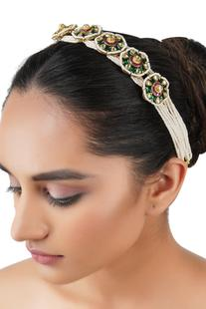Kundan Headband