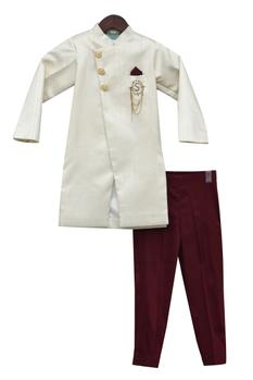 Overlap Style Kurta With Pants