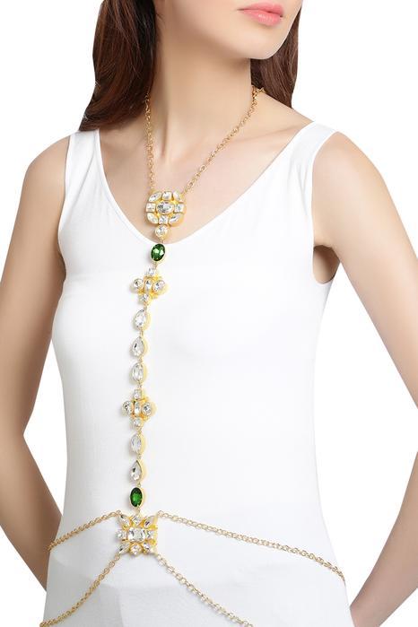 Crystal body chain