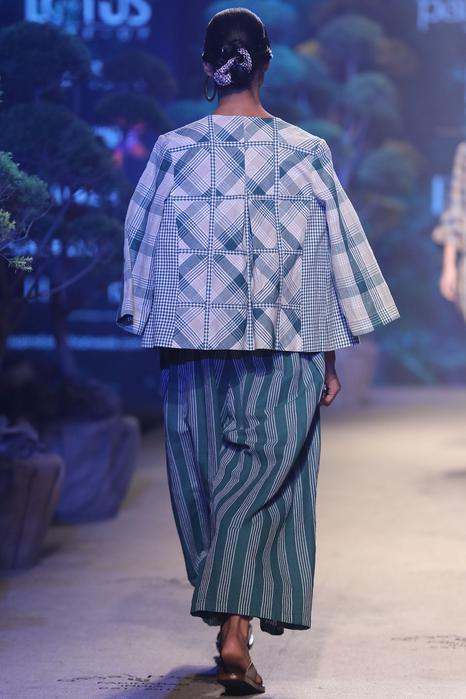 Linen Striped Jumpsuit