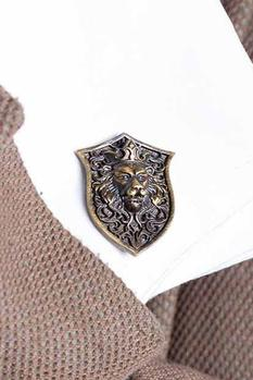 Antique Lion Cufflinks