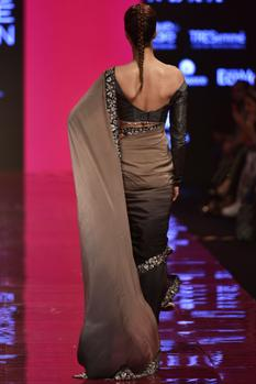 Ombre Saree with Blouse