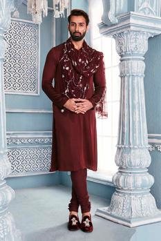 Kurta Set with Stole